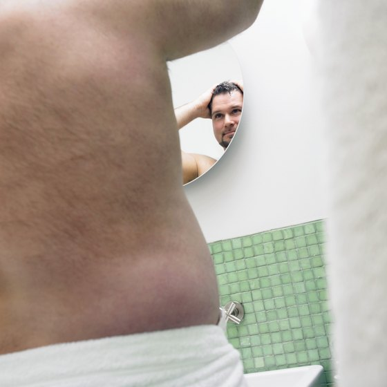 Shedding back fat can make a big difference to your overall physique.