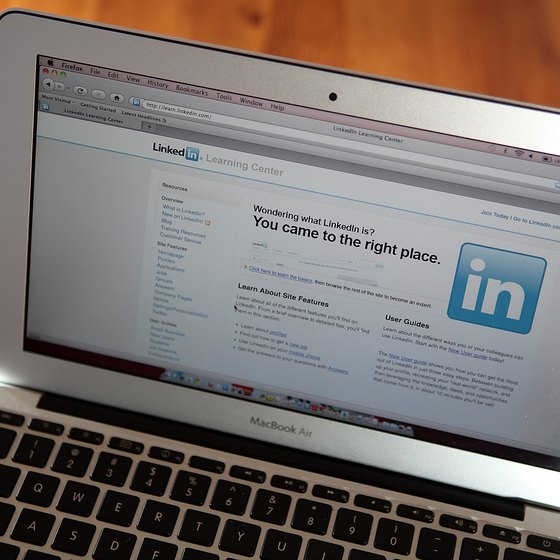 You can customize your LinkedIn profile with a variety of graphical elements, including photos and bullet points.