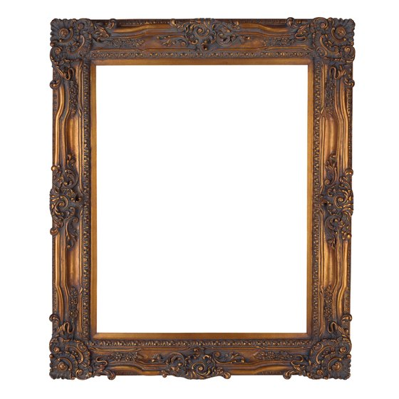 Borders, like frames, enhance objects by making them the focal point.