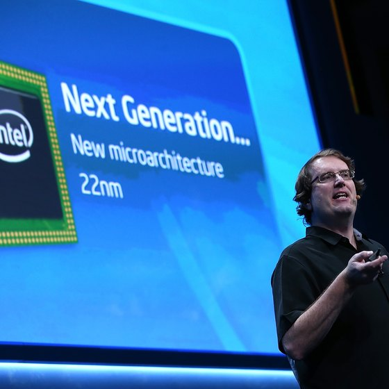 Intel manufactures processor units with one, two, four and six cores.