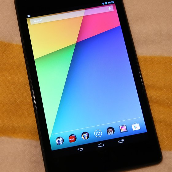 Google's Nexus 7 tablet runs the Android operating system.