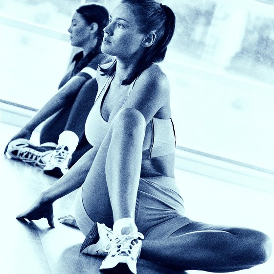 Aerobics classes can help add discipline to your workout routine.