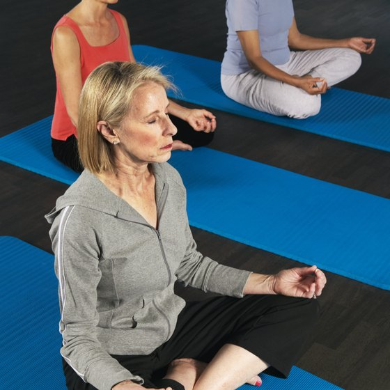 A yoga class will teach you how to meditate.