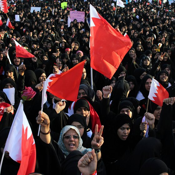 Steer clear of demonstrations in Bahrain that may get out of hand.