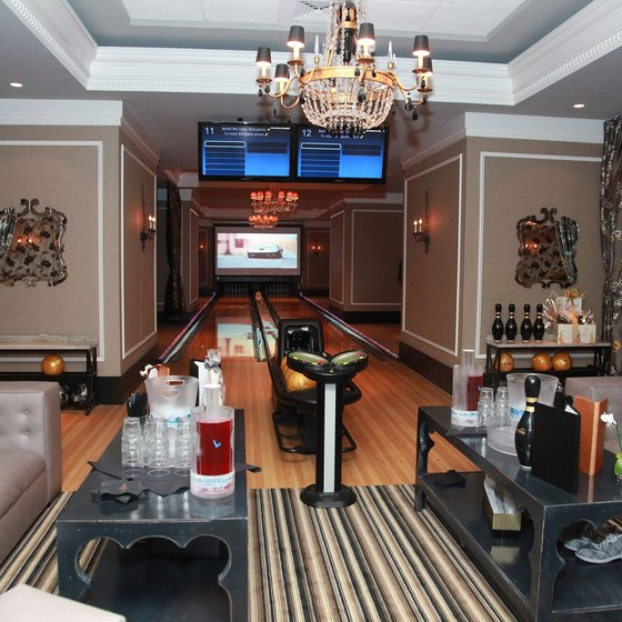 Luxury is on display at Foxwoods' High Rollers lounge.
