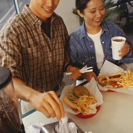 Taxes on fast food are designed in part to change eating habits.