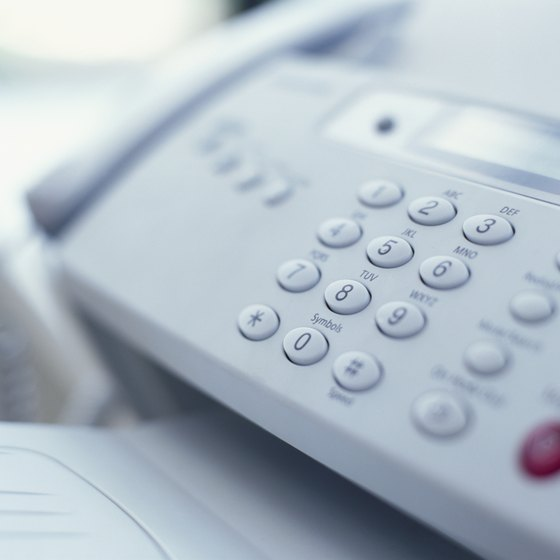 how to connect fax machine to wifi