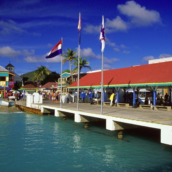 Philipsburg is St. Martin's primary cruise port.