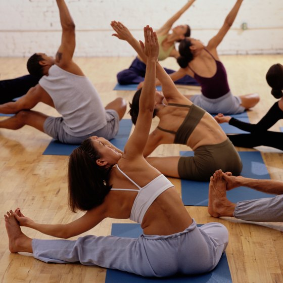 Alternative forms of yoga add a special touch to the traditional practice.