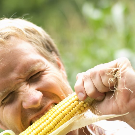 The manganese and phosphorus in corn help keep your teeth strong.