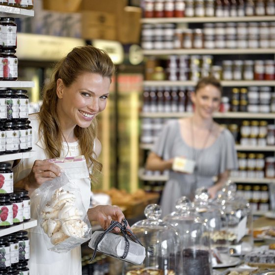 Marketing is the key to success in selling gourmet food products.