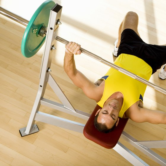 Flat barbell bench press is the most basic of all bench press exercises.