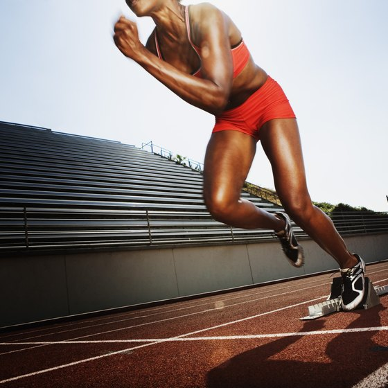 You need strong abductor and adductor muscles to provide power while running.