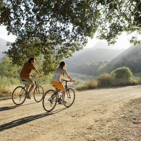 Cycling will help you burn calories in your goal to lose 35 pounds.