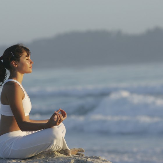 Enjoy breathing and meditation exercises for your chakras.