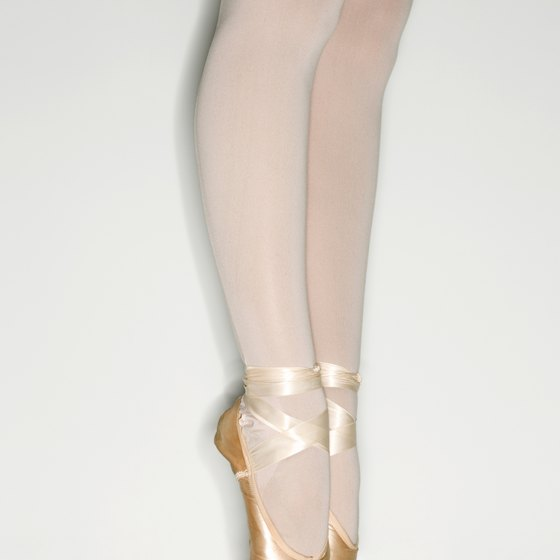 Strengthening exercises help keep your ankles aligned when on pointe.