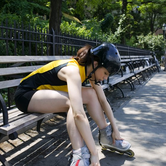 Too much rest during a rollerblading session reduces its effectiveness.