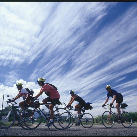 With adequate training, a long bike ride can be a fun challenge.