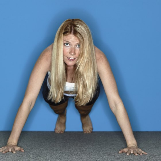 Body-weight exercises like burpees can burn a lot of calories.
