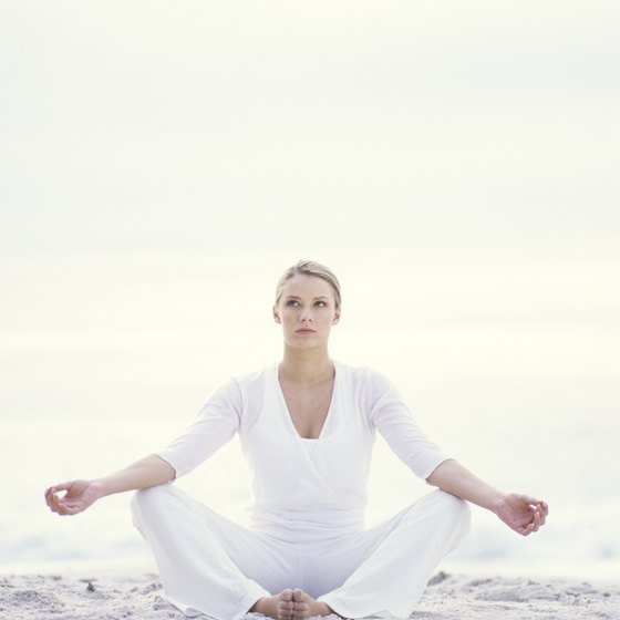 Kriya yoga focuses on meditation and breathing.