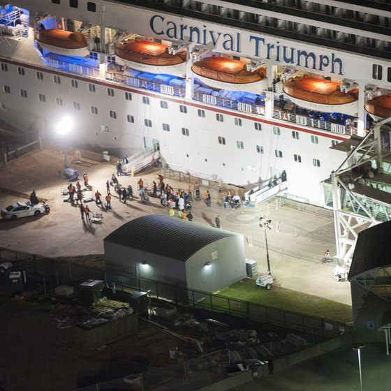 The Carnival Triumph is a very casual ship.