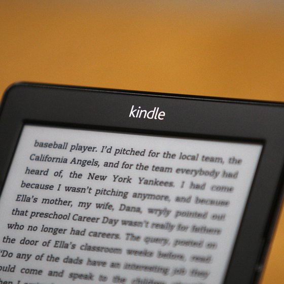 View work-related documents on your Kindle.