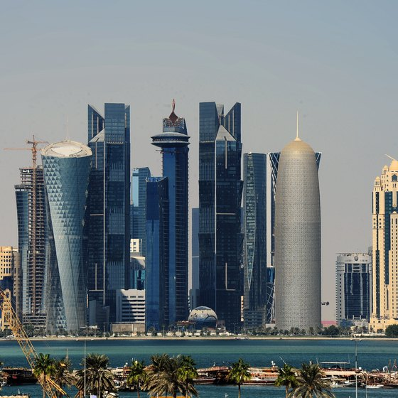Doha is home to many expats.