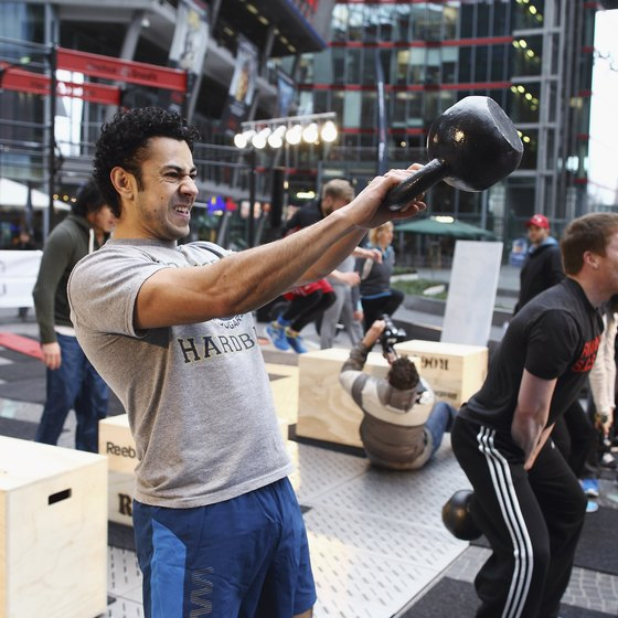 Kettlebells are frequently featured in the CrossFit Games.