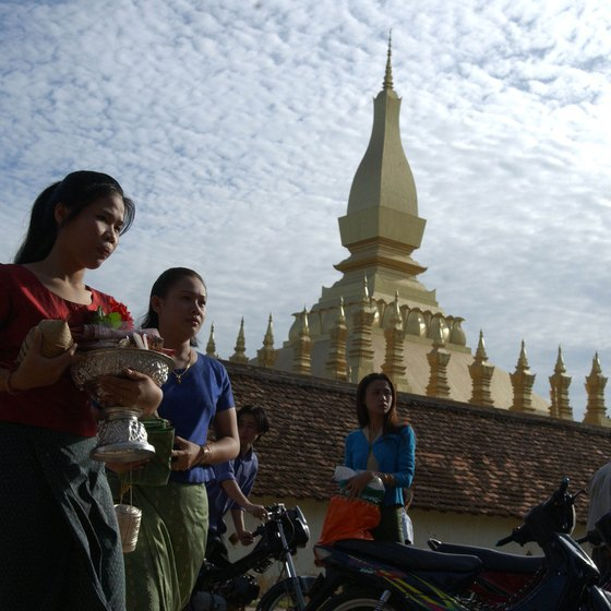 Pha That Luang is regarded as a symbol of Laos.