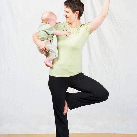 Exercise with your baby to increase the benefits.