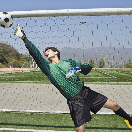 Increase your reaction time to help block goals in the net.