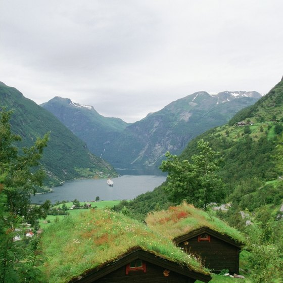 Norwegian cruises typically travel along the country's stunning west coast.