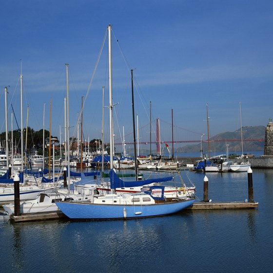 Set sail on the San Francisco Bay -- with proper gear, of course.