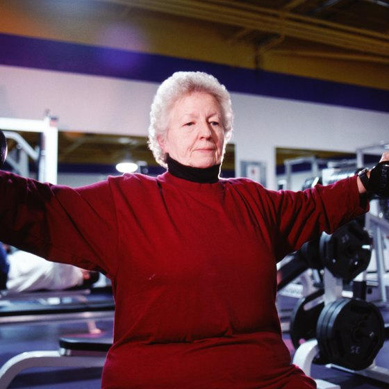 Resistance training helps to build muscle as we age.