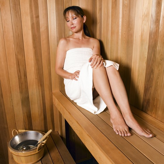 Saunas are relaxing, but also potentially dangerous.
