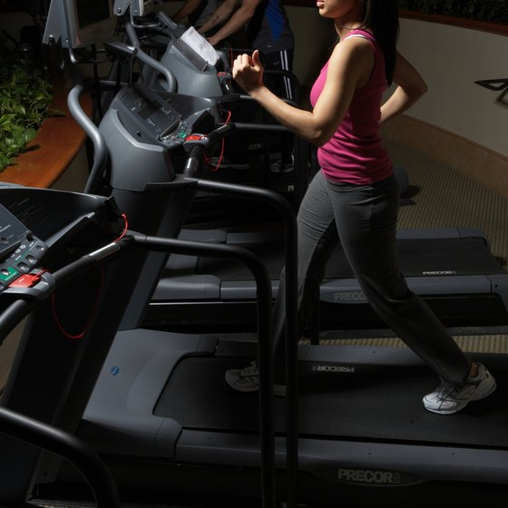 Using a treadmill can help you lose fat throughout your body.