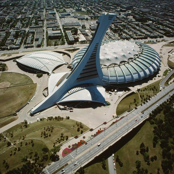 See all of Montreal from the iconic Parc Olympique Tower.