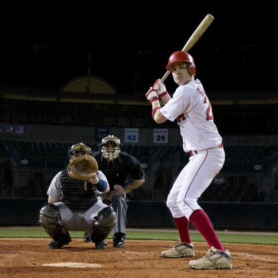 Hitting and throwing drills are common among high school baseball players.