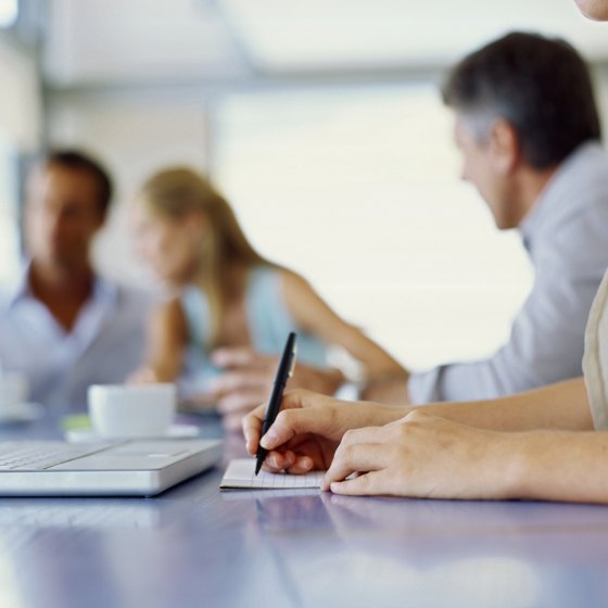 Corporate meeting minutes are a record of the decision-making process.