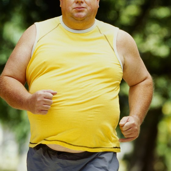 Start slow with a new workout regimen if you're overweight.