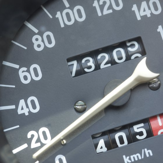 The meter will look like a car's odometer.