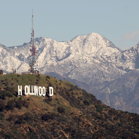 The Hollywood Sign is not easy to shoot.