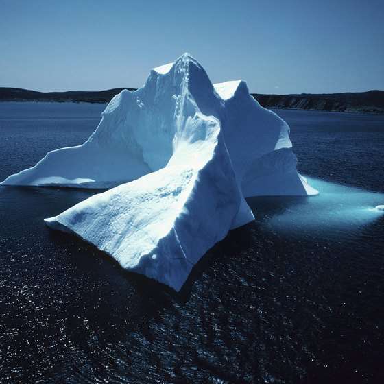 Iceberg Alley in Newfoundland and Labrador is one of the best places in the world to view icebergs.