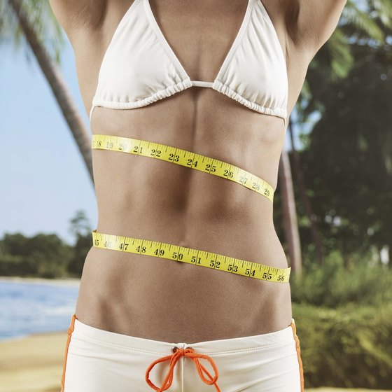 Beyond ab exercises, reducing the waist requires cardio and calorie restriction.