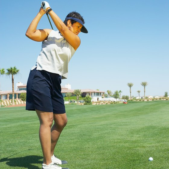 Gym exercises will make your golf swing more flexible and powerful.