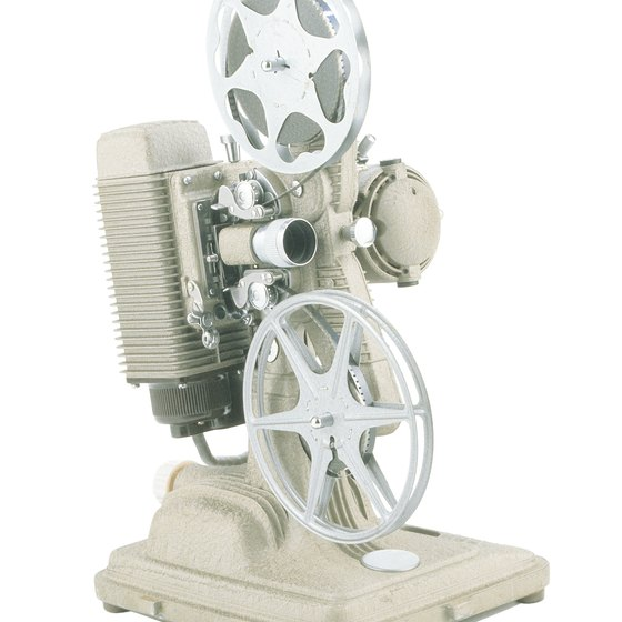 Clean and lubricate a movie projector every two months if you use it regularly.