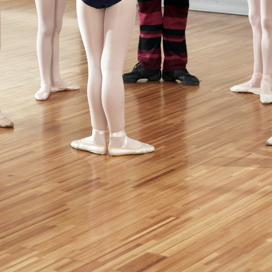 The basic ballet positions serve as a foundation for many types of dance.