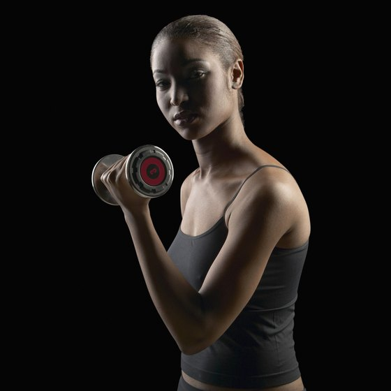 Strength training can help increase your metabolism.