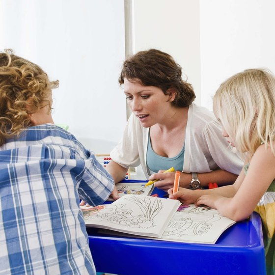 Include curriculum information in your child care center proposal.