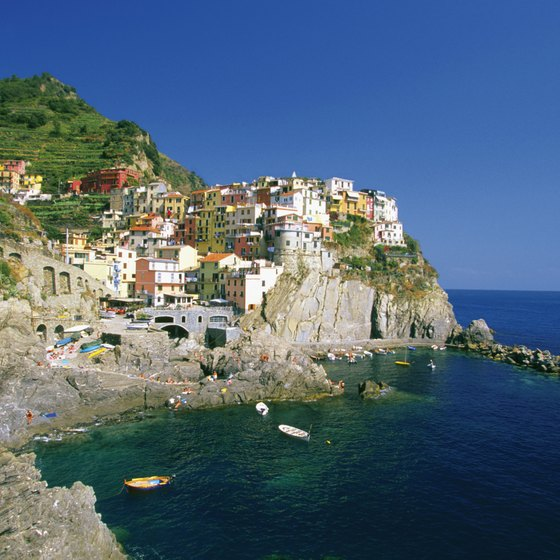 Arriving at Cinque Terre by ferry provides a stunning first look at the area.